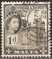 Malte - 1956 - Église De La Victoire - YT 241 Oblitéré