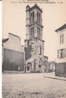 Cp , 78 , MANTES-la-JOLIE , La Tour Saint-Maclou Vue De La Place Saint-Maclou - Mantes La Jolie