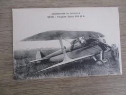 CPA   LE BOURGET HISPANO SUIZA - Aviation
