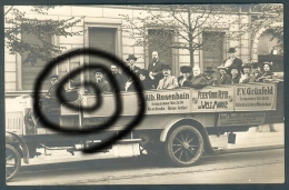 "Deutschland, Germany - Postkarte - "" Wallroth´s Auto - Fahrt G.m.b.H. "", Berlin - Potsdam, 1913 ! - Taxis & Droschken"