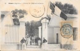Ténès - Entrée De L'Hôpital Militaire - Algeria
