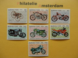 Burkina Faso 1985, MOTORBIKES MOTERFIETSEN MOTOCYCLETTES: Mi 998-04, ** - Motorbikes