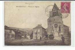 12 BRUEJOULS Place De L' Eglise , Charette Devant L'eglise - Altri Comuni