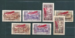 Colonie PA Du  Grand Liban Timbre De  1926/27  N°14 A 20  Neufs *   (cote 59€) - Airmail