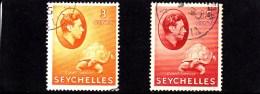 1941 - SEYCHELLES - O/FINE CANCELLED - TURTLE - SCHILDKRÖTE - Mi 123, 129a - Seychellen (...-1976)