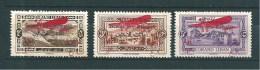 Colonie PA Du  Grand Liban Timbre De  1926  N°17 A 19  Neufs * - Great Lebanon (1924-1945)