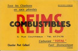 BUVARD REIMS COMBUSTIBLES - Hydrocarbures