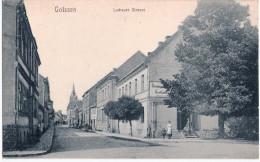 GOLSSEN Kreis Dahme Spreewald Luckauer Strasse Gasthaus Belebt TOP-Erhaltung Ungelaufen - Golssen