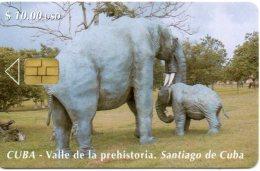 éléphant Elephant Animal Télécarte Phonecard Cuba W56 - Cuba