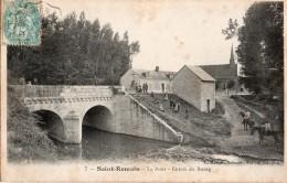 SAINT ROMAIN SUR CHER Le Pont  Entrée Du Bourg  2 Scans - Ohne Zuordnung