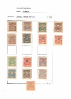 Armata Del Sud.Various Stamps Perf And Imp.1919 See Scans