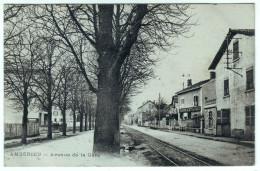 Ambérieu (01 Ain) : Avenue De La Gare En 1913. - Autres Communes