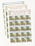 Liechtenstein, Huge Collection Of Sheets From The Period 1996-2005 - Timbres