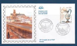 Env Fdc 19/5/2000 Nevers, N°3329 Y Et T, Congrès Philatélique, Aiguière En Faïence, Porte De Croux - FDC