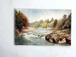 Carte Postale Ancienne : Below The Salmon Pool, Builth Wells - Breconshire