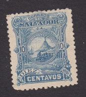 El Salvador, Scott #51, Mint Hinged, Volcano, Issued 1891 - El Salvador