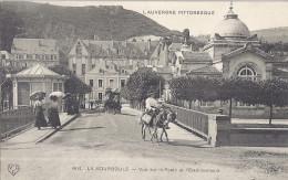 LA BOURBOULE -4618-VUE SUR LA POSTE ET L'ETABLISSEMENT  CARTE ANIMEE - La Bourboule
