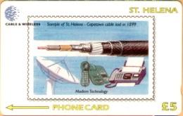 St Helena Isl. - GPT, Capetown Cable Laid, CN : 327CSHC, 1200ex, 1999, Used - St. Helena Island