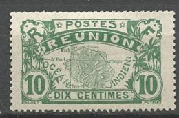 REUNION  YVERT N° 85  NEUF * TRACE DE   CHARNIERE /  MH - Unused Stamps