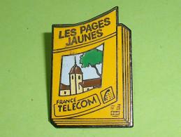 Pin's / France Telecom : Les Pages Jaunes    TB1(17a) - France Telecom