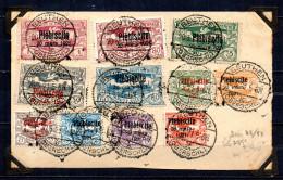 BC / Haute Silesie N° 48 à 58 Plébiscite Du 20 Mars 1921 Sur Devant De Lettre   RARE !!! - Germany