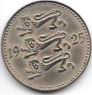 *Estonia  3 Marka 1925 Km 2a    Xf+   Catalog Val 65,00$ - Estonie