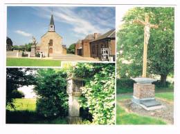 CLAIRFONTAINE  02  église Chapelle Calvaire . Multi Vues - Autres Communes