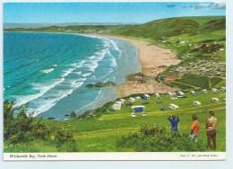 Woolacombe Bay, North Devon. - John Hinde - England