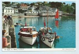 St. Mawes, The Quay, Cornwall. - John Hinde - England