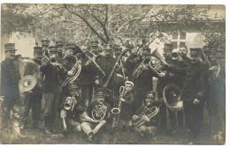 Camp De Beverloo (afgestempeld) Fotokaart Muziek   Musique Instrument - Leopoldsburg (Camp De Beverloo)