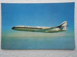 CP AVIATION AIR FRANCE  - Avion Caravelle  Premier Moyen Courrier à Réaction  Pure 800km/h - 1946-....: Ere Moderne
