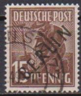 Berlin 1948 Mi.Nr.6 O Gest. Mit Schwarzem Aufdruck  Ansehen ( 3408) - [5] Berlin