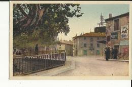 Lunel  34   Le Pont De Vesse _Route Et Trottoir Animée - Lunel