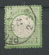1872 USED Reich - Oblitérés