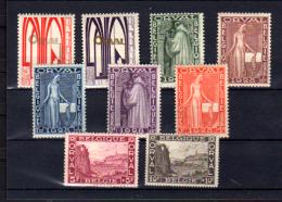 Première Orval, 258 / 266** (pli 1,75 Et 3f), Cote 330 €, - Neufs