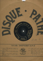 "78T DISQUE GRAMOPHONE (29 Cm) PATHÉ ""POLKA DES VEINARDS""  &  ""POLKA DES PIPELETS"" - 78 T - Disques Pour Gramophone"