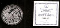 """Authentic-Original-Offici Al Issue 10 EURO Silver Proof Coin  National Park Of Pindos""""  2007 """"Valia Calda"""" + C.O.A 1705! - Griekenland"""