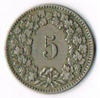 Switzerland 1894 5c - Switzerland