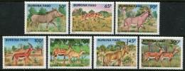 BURKINA FASO 1986 Wildlife Antelopes Gazelle Hyena MNH - Stamps