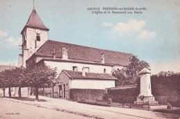 THORIGNY SUR MARNE(77)neuve-l'église Et Le Monument Aux Morts - Autres Communes