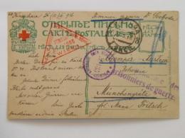 Russia 1003 Prisonniers De Guerre Prisoners Of War Kriegsgefangene Prigionieri Di Guerra 1916 Crimee Krim - Storia Postale