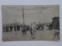Russia 1014 Prisonniers De Guerre Prisoners Of War Kriegsgefangene Prigionieri Di Guerra 1916 Soltau Camp - Lettres & Documents