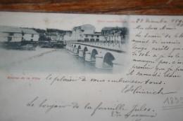 CPA Département Aube 10 Commune De BAR-sur-Seine Entrée De La Ville 1899 - Bar-sur-Seine