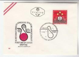 1972 AUSTRIA FDC ECONOMIC CONGRESS  Stamps SPECIAL Pmk  Cover - FDC