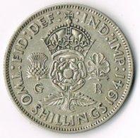 United Kingdom 1941 2/- - 1902-1971 : Post-Victorian Coins