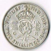 United Kingdom 1944 2/- - 1902-1971 : Post-Victorian Coins