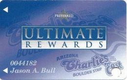 Arizona Charlie´s East/Boulder Casino Las Vegas, NV - Slot Card - 1 Logo On Back - Casino Cards