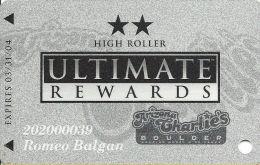 Arizona Charlie´s East/Boulder Casino Las Vegas, NV - Slot Card - Casino Cards