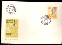 Portugal & FDC I Centenário Do Nascimento Do Professor Egas Moniz, Porto 1974 (1239) - Medicina