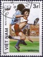 Vietnam 1986 - Football World Cup Mexico ( Mi 1667 - YT 673 ) - Coupe Du Monde